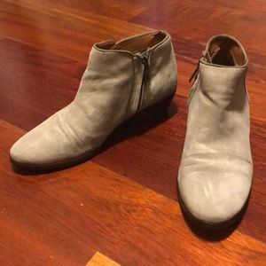 Sam Edelman Petty Booties in gray